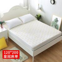 婴儿纱布纯棉隔尿垫超大号宝宝防水床笠床罩床垫儿童床单1.8米 大号