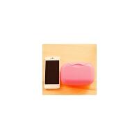 旅行创意香皂盒旅游户外出差男女洗漱用品便携带盖肥皂盒收纳盒包S6 大号粉色