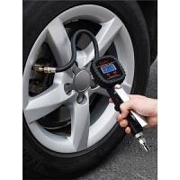 高精度数显胎压表 汽车轮胎测压表充气枪可放气