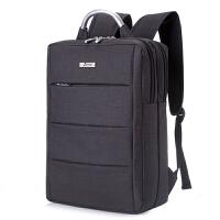 男士商务背包电脑包双肩包简约双肩背包4寸5.6寸休闲旅行出差包
