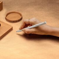 米家小米签字笔金属笔0.5mm替换笔芯黑色中性笔 学生商务高档办公