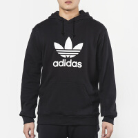 Adidas阿迪达斯 男装 三叶草运动休闲连帽卫衣套头衫 DT7964