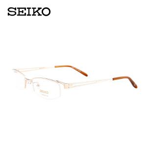 精工眼镜架 纯钛眼镜架 商务型眼镜框 男款 近视眼镜 H3069
