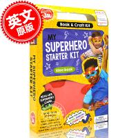 现货 我的超*英雄启动套件 英文原版 My Superhero Starter Kit (Klutz Junior)