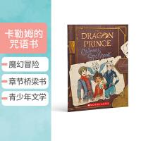 【全店300减100】英文原版 龙王子 符文咒语魔法书Callum's Spellbook The Dragon Pri