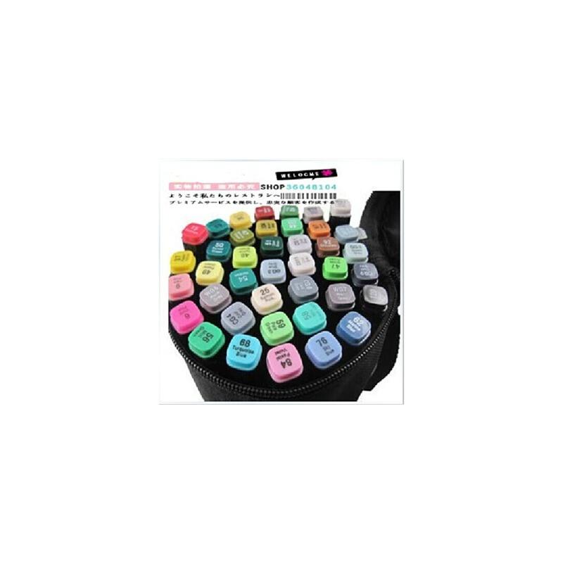 满99包邮 韩国touch马克笔 三代 服装设计常用30色套装 送笔袋 支持货到付款