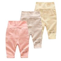 男女婴儿裤子春装夏款3个月新生儿宝宝春季秋款休闲高腰打底裤1岁