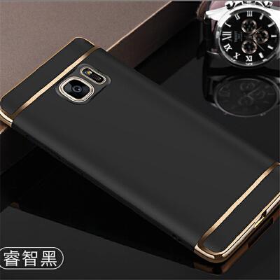 三星S7手机壳直屏sm-g9300磨砂硬壳3星7s全包边s79308指环扣外套