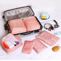 新款韩国旅行收纳套装加厚防水收纳袋内衣收纳包整理袋六件套装备 大
