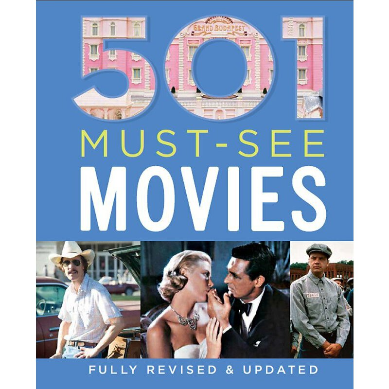 501 Must-See Movies (501 Series)【英文原版】501部必看的电影