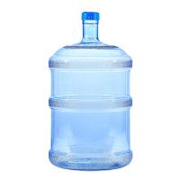饮水机桶桶装水桶升PC食品级家用塑料纯净水桶瓶塑料矿泉水桶 加厚型18.9压口 普通款