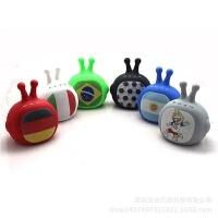 俄罗斯世界杯吉祥物主题蓝牙迷你小魔怪机器人蓝牙音响