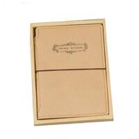 伊和诺文具商务复古怀旧日记本记事本羊绒纸笔记本-小