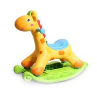 摇摇马 儿童木马摇马两用塑料滑行车1-2-3周岁宝宝玩具带音乐