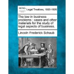 【预订】The Law in Business Problems: Cases and Other Materials