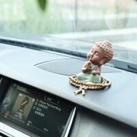 创意汽车摆件车内饰品摆件高档车饰车载可爱佛像车上车内装饰用品