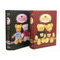 相册卡通熊 5R/7寸200张带盒 2205-3(21897)