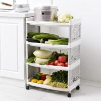家居生活用品厨房浴室卫生间塑料多层置物架整理架果蔬篮储物架化妆品收纳架