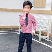元旦儿童演出服装男童女童套装幼儿园园服小学生大合唱表演校服冬