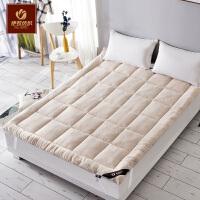 伊牧加厚床垫床褥榻榻米垫被保护垫学生宿舍单双人1.8米1.5m 褥子