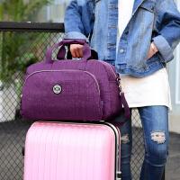 可折�B旅行包女手提包健身包大容量短途旅游包登�C包旅行袋行李包