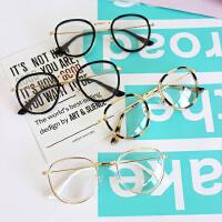 韩国复古经典森系百搭眼镜架潮流学生平光镜学院风情侣男女眼镜框