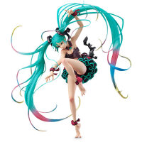 【优选】多款Q版初音未来手办巡音露卡miku公主中秋明月和服手办模型礼物