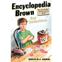 【现货】英文原版漫画 百科全书布朗:男孩侦探 Encyclopedia Brown, Boy Detective 8-