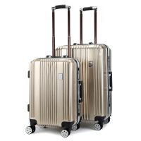 20180809050425099时尚男女20寸行李箱 男女旅行万向轮款箱包ABS+PC拉杆箱
