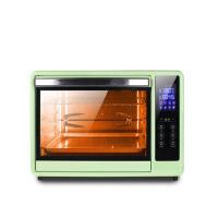 家用烘焙蛋糕 智能温控触屏30L大容量电烤箱 抹茶绿