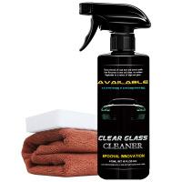 汽车前档风玻璃清洁剂去油膜清洗剂污渍前挡强力去污挡风除垢
