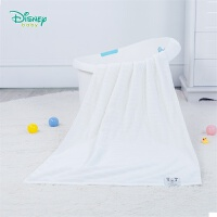 【3折价:48.9】迪士尼(Disney)童装 宝宝纯棉浴巾新生儿用品1层纱布男女婴儿柔软亲肤洗澡巾191P819
