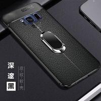 三星S8手机壳荔枝皮纹全包防摔保护套samsungS8个性硅胶软壳商务