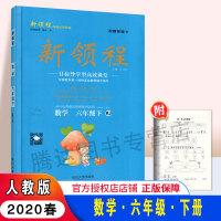 2020春 新领程丛书 新领程小学数学六年级下 RJ人教版 6年级数学下册新领程 附带测试卷