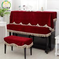 【年末特惠】木儿家居 金丝绒钢琴罩加厚布艺柔软细绒钢琴套 钢琴全罩登罩