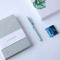 德国进口施耐德钢笔墨水笔0.5mm学生用练字记事本成人书写笔记本手帐本册BK410礼盒套装