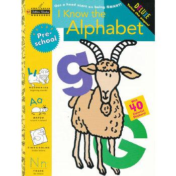 I Know the Alphabet (Pre-school, Little Golden Book) 我认识字母表(金色童书,学龄前练习册)9780307036698