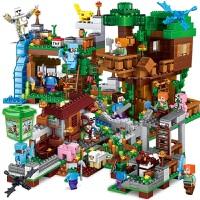 我的世界兼容乐高积木玩具男孩子益智力拼装7儿童8村庄9房子6岁10