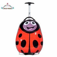 儿童行李拉杆箱红色甲壳虫登机行礼箱