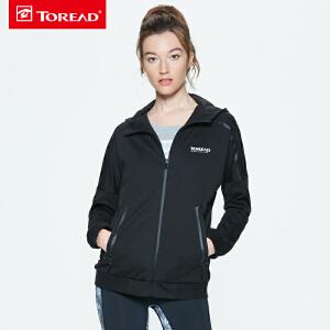 探路者卫衣 春夏户外女式棉感舒适卫衣TAUG82933