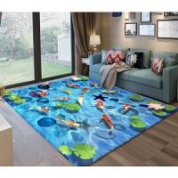 创新3D客厅沙发茶几地毯卧室床边毯儿童榻榻米厨房浴室地垫门垫