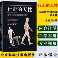 正版 行走的天性:运动中的肌筋膜和身体 本书是为运动治疗师物理治疗师整骨师整脊师推拿为患者进行治疗的人们而准备筋膜健身