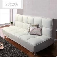 ZUCZUG折叠单人沙发床1.8午休皮 多功能双人沙发1.2 现代皮艺办公沙发 2米以上