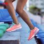 李宁跑步鞋女鞋新款轻质跑鞋反光夜跑网面休闲鞋慢跑运动鞋ARBM188
