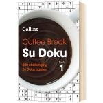 数独益智游戏书 英文原版 Coffee Break Su Doku book 逻辑思维 推理能力 英文版数独游戏题 进