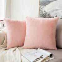 抱枕靠垫毛绒沙发靠垫靠枕办公室床头靠垫抱枕套不含芯