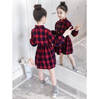 女童连衣裙秋装2018新款韩版春秋季女孩洋气童装儿童长袖裙子潮衣