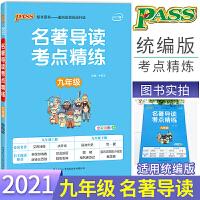 2020版 PASS绿卡图书 名著导读考点精炼 九年级 全彩漫画