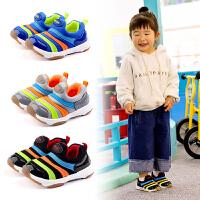 宝宝软底毛毛虫机能鞋0-1-3岁春秋季婴儿宝宝棉布鞋子学步鞋