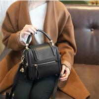包包女新款潮韩版百搭斜挎小包单肩真皮女包个性时尚手提包